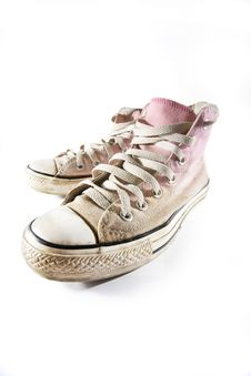 Free Sneakers Stock Images - 14181324