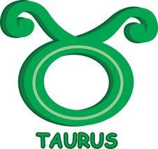 Sun-sign Symbol Stock Image