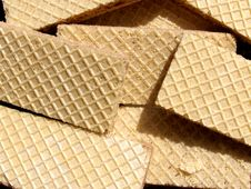 Free Wafers Background Royalty Free Stock Image - 14181696
