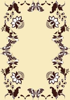 Free Floral Background Royalty Free Stock Photos - 14182248