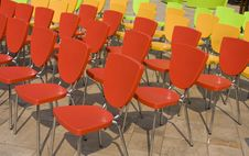 Free Chair Arrangement Royalty Free Stock Image - 14182596
