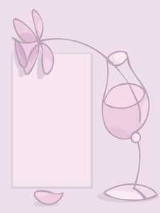 Free Pink Glass Royalty Free Stock Photos - 14182698