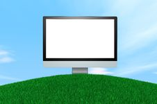Free Computer Display Royalty Free Stock Photography - 14183307