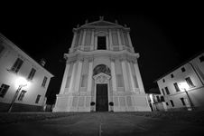 Free Church At Night Stock Image - 14184221