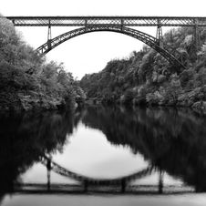Free Iron Bridge Royalty Free Stock Photography - 14184477