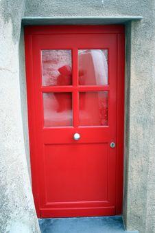 Free Red Door Stock Image - 14185591