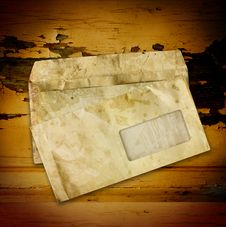 Old Envelopes Royalty Free Stock Image