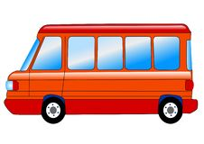 Free Microbus Royalty Free Stock Photos - 14186068