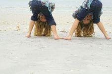 Free Peek A Boo Beach Stock Photography - 14186342