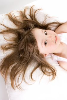 Free Little Girl Sleeping Stock Photos - 14186743
