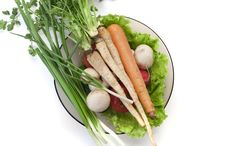 Free Plate Of Vegetables Stock Images - 14186814