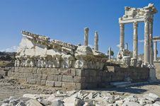 Ruins Of Pergamo, Turkey Royalty Free Stock Photography
