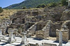 Free Archaeological Ruins Of Efes Stock Photography - 14187142