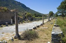 Free Archaeological Ruins Of Efes Royalty Free Stock Photography - 14187147