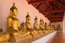 Free Buddha In Temple Stock Photo - 14187160