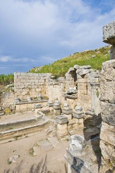 Free Ancient Perge Archaeological Site Stock Image - 14187171