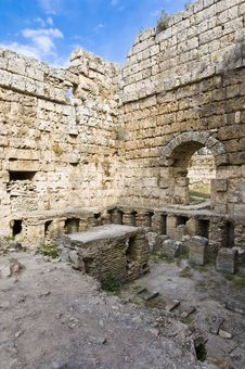 Free Perge Archaeological Site, Turkey Stock Images - 14187224