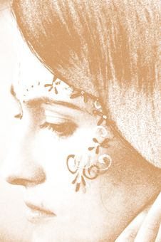 Free Etna Face Design Royalty Free Stock Photo - 14187755