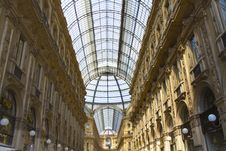 Free Galleria Vittorio Emanuele In Milan Stock Photography - 14189982