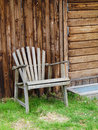 Free Old Garden Chair Royalty Free Stock Images - 14194319
