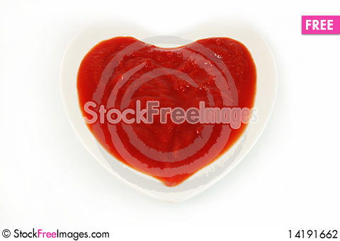 Free Tomato Sauce Stock Photography - 14191662