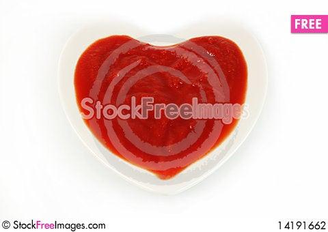 Free Tomato Sauce Stock Photography - 14191662