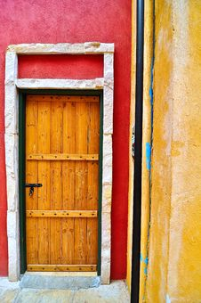 Free Wooden Door Royalty Free Stock Photo - 14190015