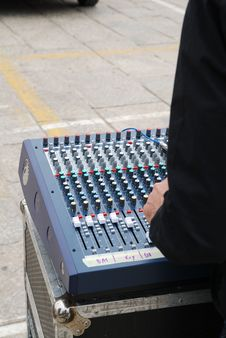 Free Audio Mixer Stock Photos - 14190483