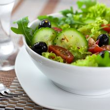 Free Salad Royalty Free Stock Photos - 14190858