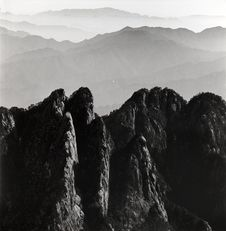 The Huangshan Mountain Royalty Free Stock Photo