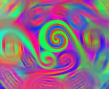 Free Colored Spirals Stock Photos - 14191833