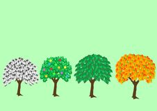 Free Trees Royalty Free Stock Images - 14191859