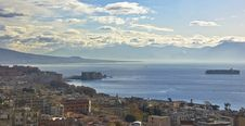 Free Panorama Of Naples Stock Image - 14191891