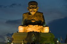 Luang Poo Tuad, Huay Mongkol Monastery Stock Image