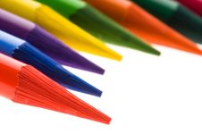 Free Collection Of Colorful Pencils Royalty Free Stock Images - 14193529