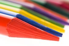 Free Collection Of Colorful Pencils Royalty Free Stock Images - 14193539