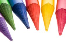 Free Collection Of Colorful Pencils Stock Photography - 14193612