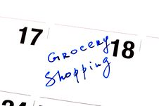 Free Grocery Shopping Stock Photo - 14193940
