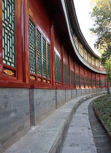 Beautiful Chinese Architecture Stock Photography