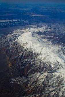 Free Snow Mountain Aerophotography Stock Photos - 14194453