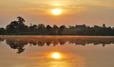 Free Sunrise In Chiangmai Royalty Free Stock Image - 14196296