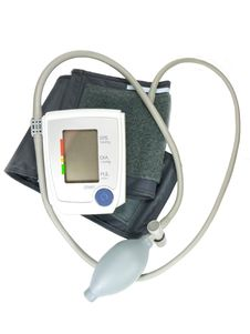 Electronic Instrument For Measurement Of The Blood Stock Photo