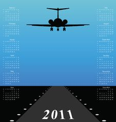 Free 2011 Calendar Stock Image - 14198071