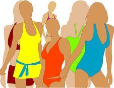 Free Girl In Swimwear Stock Photos - 14198893