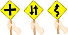 Free Traffic Sign Boards Stock Photos - 14198923