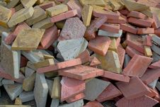 Free Heap Of A Tile Stock Photography - 14199132