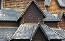 Free Stave Church Stock Photo - 14199950