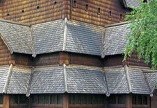 Free Stave Church Stock Photography - 14199972