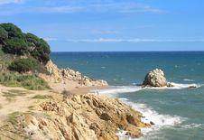 Costa Brava Royalty Free Stock Images