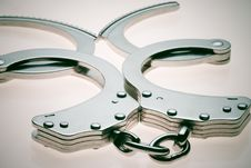 Free Handcuffs Royalty Free Stock Photos - 1420648